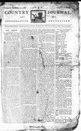 The County Journal Issue From September 15, 1785