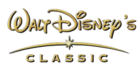 Walt Disney's Classic 2001-2008 Print Logo