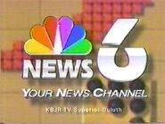 KBJR-TV's News 6's Your News Channel Video ID From 1991