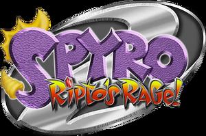 Spyro the dragon 2 ripto s rage logo by heydavid17-d60ewis