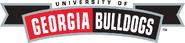 6014 georgia bulldogs-wordmark-2002