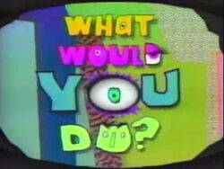What Would You Do intertitle