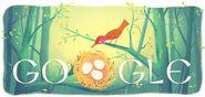 Google Haim Nachman Bialik's 141st Birthday (born 1873)