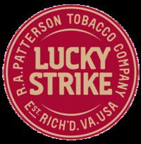 Luckystrike logo13 red
