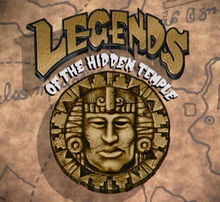 Legends of the Hidden Temple logo 1993-1995 (Nickelodeon)