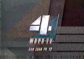 WAPA-TV's Video ID from 1990