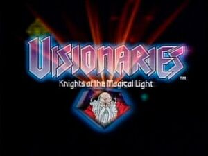 Visionaries Knights of the Magical Light title