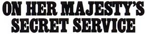 On Her Majesty's Secret Service Logo