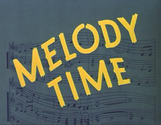 Melody Time Logo 1948