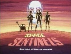 Space Sentinals Title Card