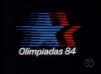 Olimpiadas 84 Rede Globo