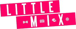Little Mix pink logo