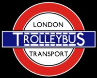 London Transport Trolleybus Roundel