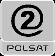 Polsat 2 (żałobne logo) (2007-2013)