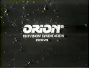 Orion Television Syndication Presents