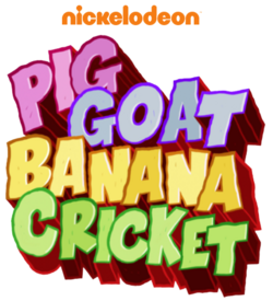 Pig Goat Banana Cricket Logo