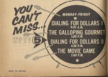WPTV Ad S. Florida TV Guide December 5-11, 1970 001