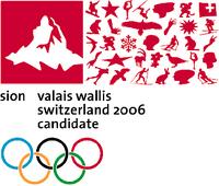 Sion 2006 Olympic bid logo