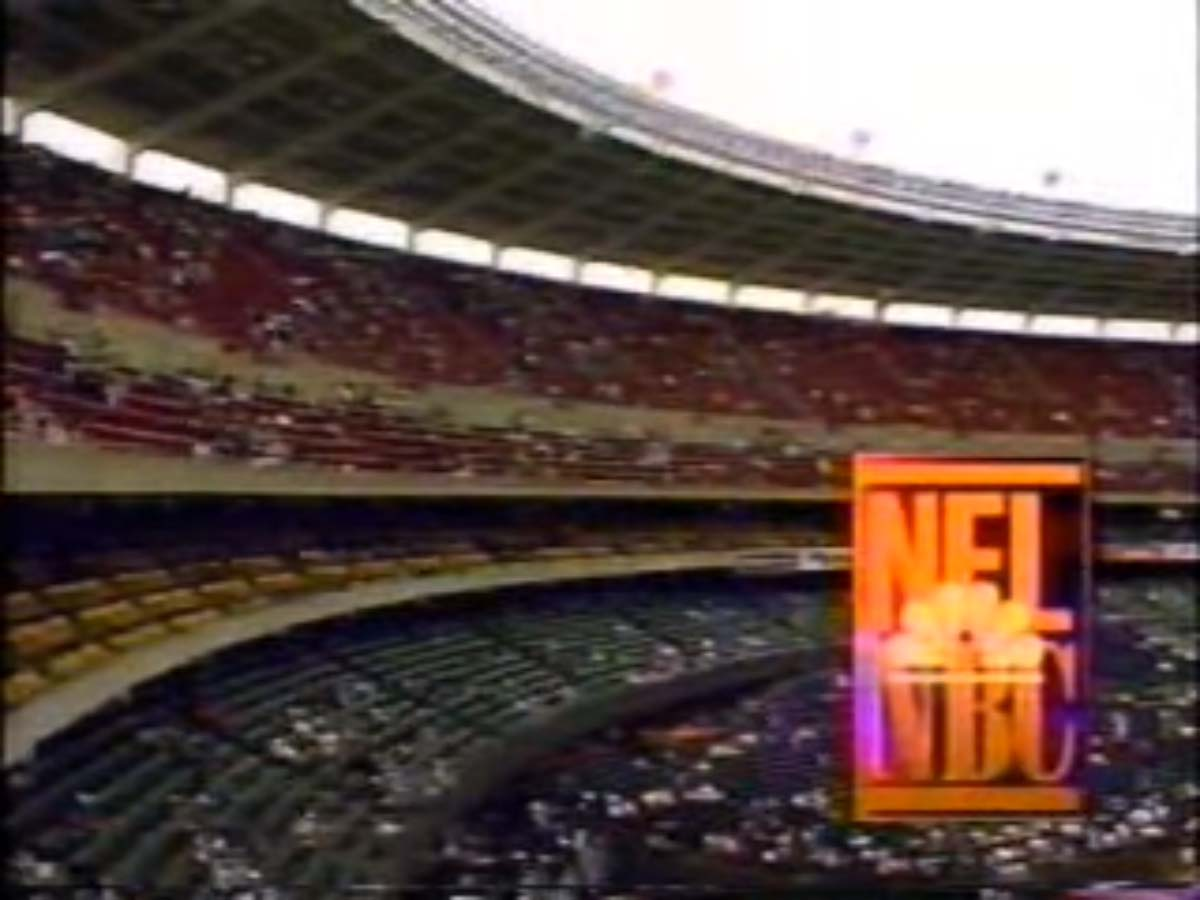 NBC Sports' NFL On NBC Pregame Show Video Open From Sunday Afternoon, October 1, 1995