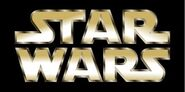 Star Wars logo Gold