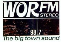WOR-FM 98-7 radio logo