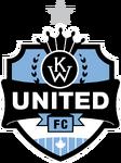 K-W United FC logo (one silver star)