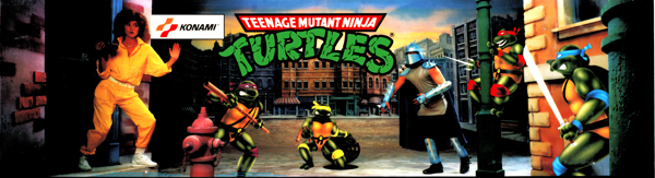 Teenage Mutant Ninja Turtles marquee