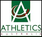 Athletics Australia 1995-1999 logo