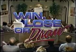 Win, Lose or Draw Preview Episode '87