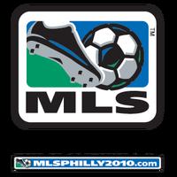 MLS logo with Philadelphia 2010 wordmark and web address