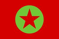 Bandera MAPU Obrero Campesino