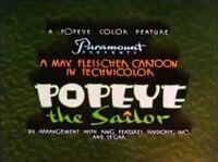 Popeye 1939 Special