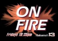Alabama's 13 WVTM On Fire with Coach Chan Gailey promo 1992