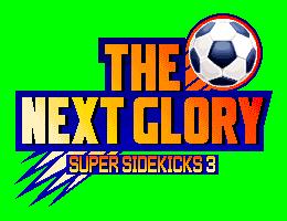 Super Sidekicks 3 The Next Glory Logo