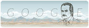 Google Carlos Fuentes' 85th Birthday