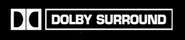 Dolby Surround White Black Background