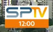 SPTV Primeira Edição GC of Logo and Clock 2017