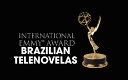 Emmy Brazilian Telenovelas 2015 logo