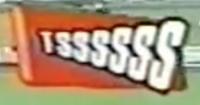 Logotipo de Oferecimento do Futebol na Globo (1999) Brahma Chopp Tssssss