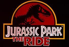 Jurassic park ride logo