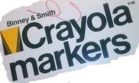 Crayola markers old logo