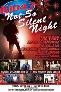 WSPK-FM's K104's Not So Silent Night Promo For Monday Night, December 5, 2011
