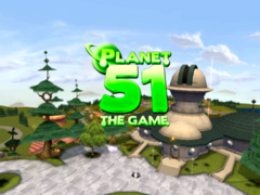 Planet 51 Wii Game In-Game Title 4x3