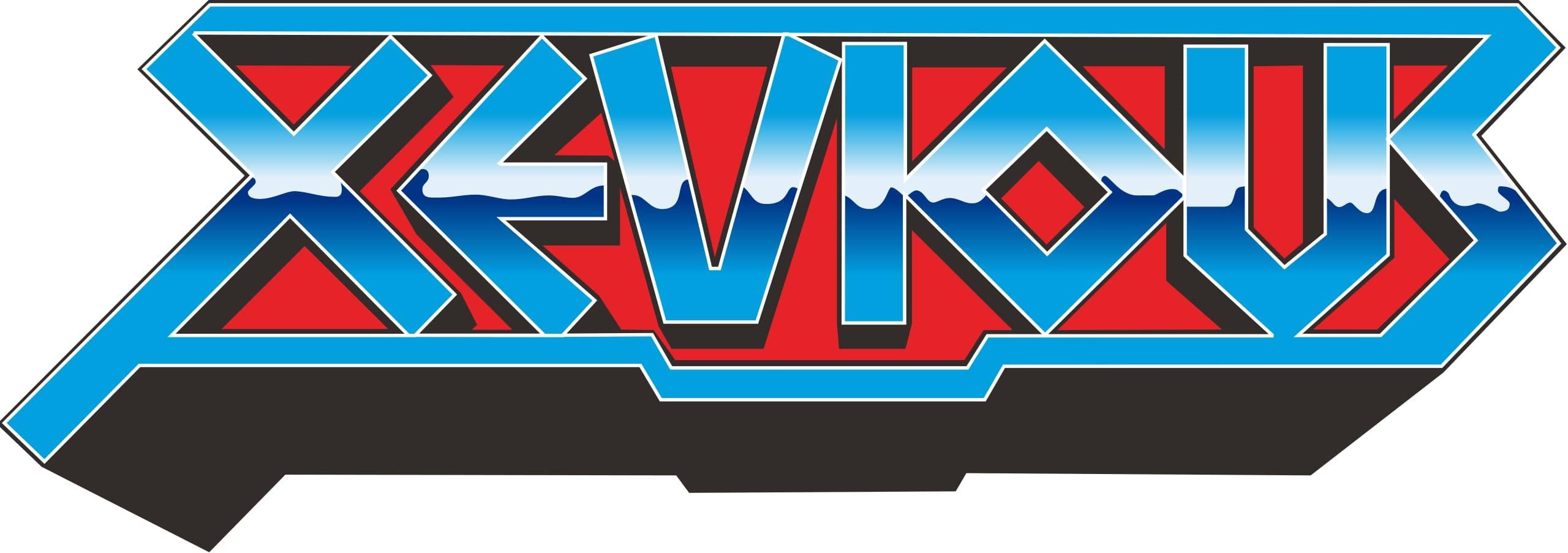 Xevious arcade logo