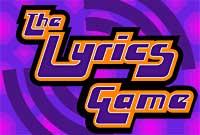 The lyrics game logo