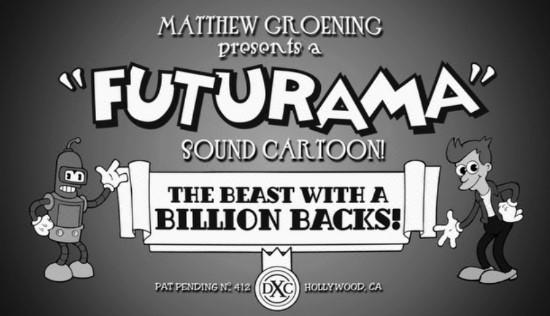 Futurama beast with billion backs logo