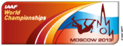 2013 World Championships in Athletics logo