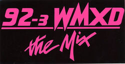 92.3 THE MIX WMXD