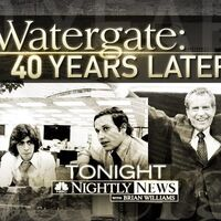 NBC News' NBC Nightly News With Brian Williams' Watergate, 40 Years Later Video Promo For Friday Evening, June 15, 2012
