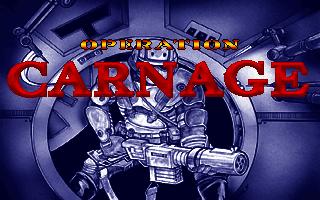 Operation carnage logo